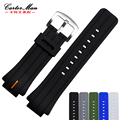 New Rubber Watchbands 28*18mm Waterproof Silicone Strap for TIMEX T2N720 T2N723 T2N738 Bracelet