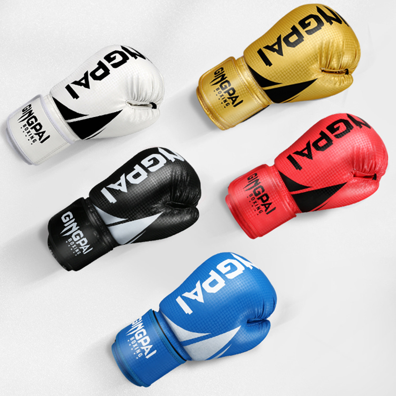 HIGH Quality Adults Women//Men Boxing Gloves Leather