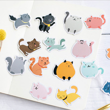 45 Pcs/box Cute Meow Mini Paper Sticker Decoration diy Diary Scrapbooking Label Stationery kawaii School Supply