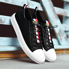 SUROM 2018 Autumn New Fashion Shoes Men Sneakers Luxury Brand Breathable Leather Lace Up Casual Shoes Men Krasovki New