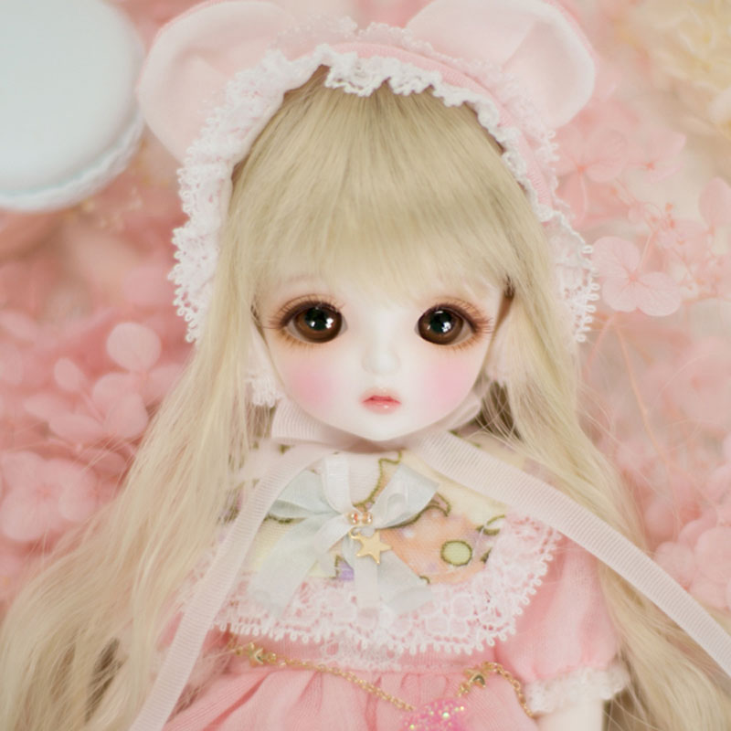 1/6 BJD Doll BJD/SD Cute Miu Joints Doll For Baby Girl Birthday Gift With Free Eyes Free Shipping цена