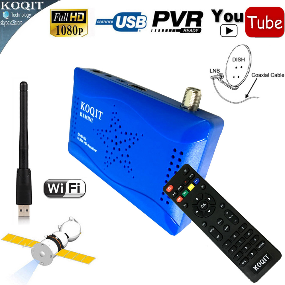Mini Size Dual USB Port DVB-S2 Digital Satellite Receiver HD AC3 Audio IKS Share Cccam Newcam Yoututbe WIFI Power Vu Biss Key