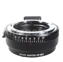 Amopofo NF-NEX adaptador de foco Automático, para adaptador de lente nikon af-s f g para para sony e mount camera nex-7 a7r a7 6 5 3 5n