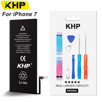 2018 KHP Original 1960mAh Mobile Phone Battery For IPhone 7 Battery Original High Capacity With Tools