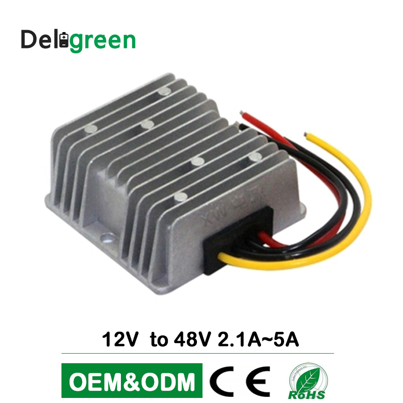 <font><b>12V</b></font> to 48V 2A <font><b>3.5A</b></font> DC DC Converter Regulator Car Step Up Boost Converter <font><b>Power</b></font> <font><b>Supply</b></font> Waterproof image
