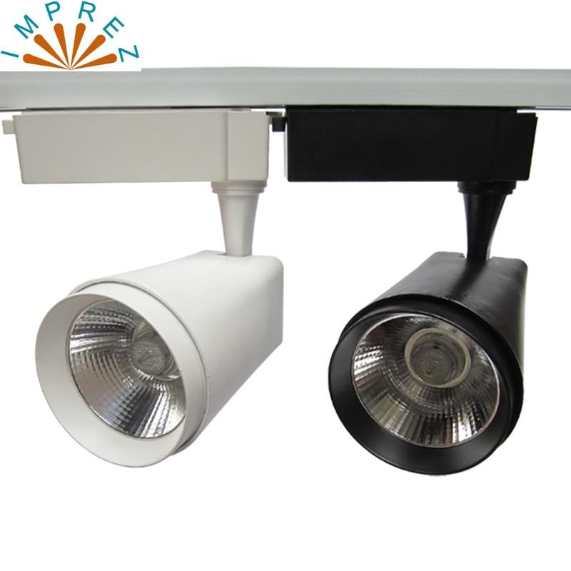 ᗚ2/3/4 Alambres COB LED Luz de pista 20 W led spot para ...