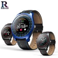 RollsTimi Heart Rate Monitor Smart Watch with Touch Screen Support Sim Card digital watch Fitness Tracker Camera wrist watch men
