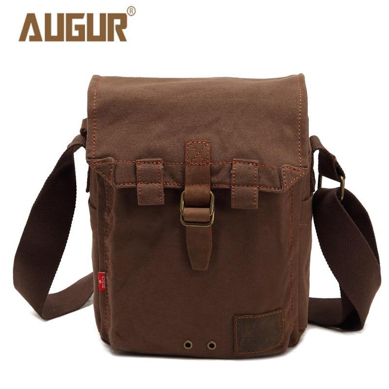 AUGUR men's travel bags cool Canvas bag fashion men messenger bags high quality brand bolsa feminina shoulder bags 9150