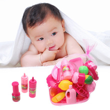 40pcs/set Cooking Toy Pink Kitchen Food Cooking Role Play Pretend Toy Girls Baby Children Birthday Christmas Gift