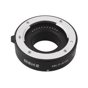 Image 3 - Meike Anillo de tubo de extensión de enfoque automático Macro MK P AF3A AF para cámaras Panasonic Olympus sin espejo
