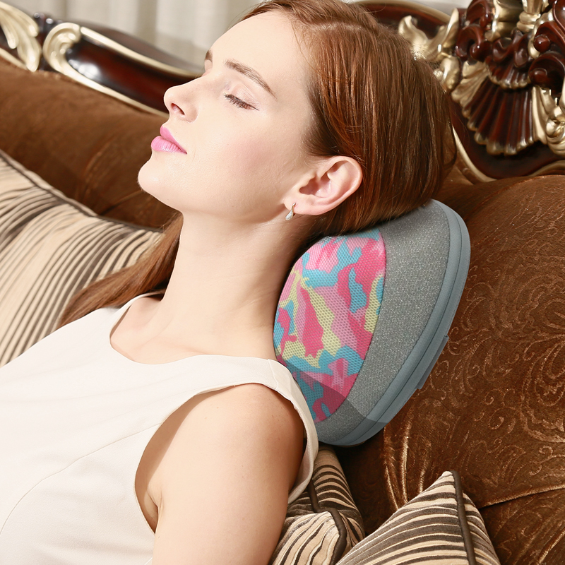 marese electric cervical shiatsu massage pillow for shoulder neck back body with kneading heating massager