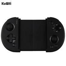 KuWFi Wireless Game Controller, Telescopic Shock Bluetooth Connecting Joystick Gamepad For Android Phone