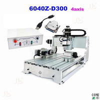 No Tax Mini CNC 6040 Router Engraver For Milling Drilling Engraving With USB Support