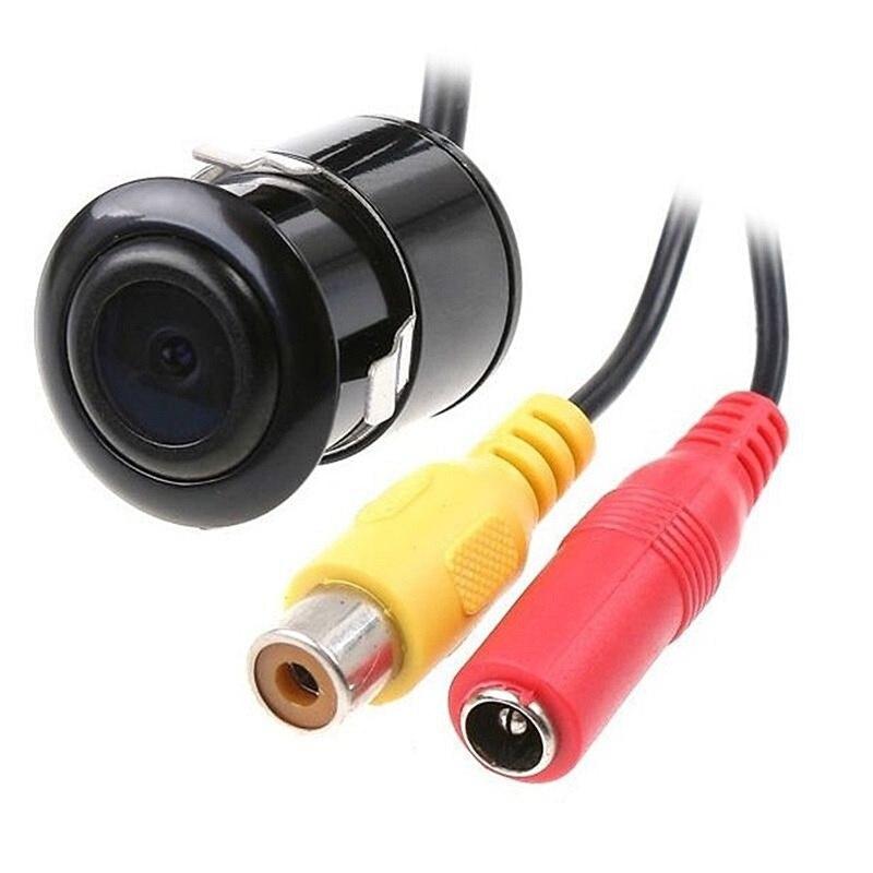 Anbes 18.5mm retrovisor HD CCD impermeable cámara posterior del coche de reserva reversa asistencia de aparcamiento pantalla de colores NTSC/PAL