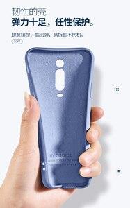 Image 2 - עבור Xiaomi Mi 9T פרו מקרה רך נוזל סיליקון Slim עור מגן כריכה אחורית מקרה עבור Xiaomi mi 9t mi9t מלא כיסוי טלפון פגז