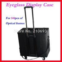 Держать 144 шт. оптический Солнцезащитные очки для женщин очки Очки Дисплей случае образец коробка путешествия троллейбус случае S144