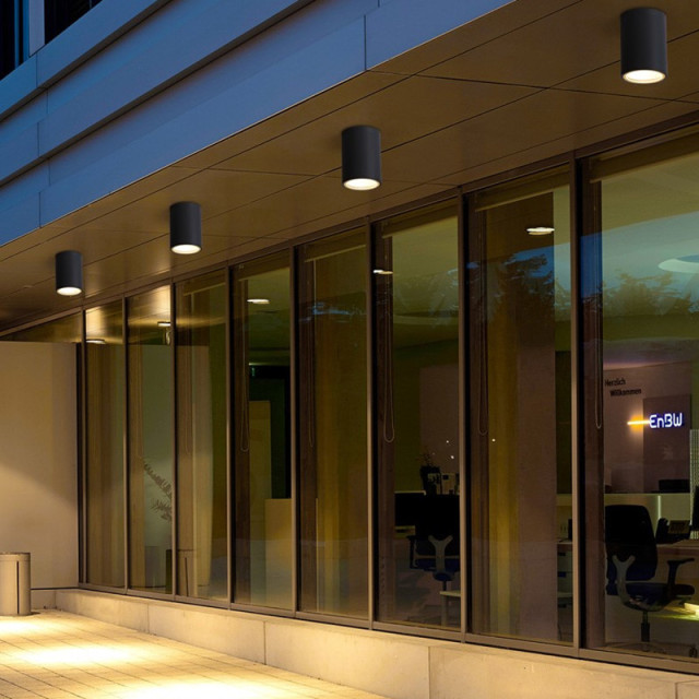 Cylinder Led Ceiling Down Light Fixture Modern Lamp Cob