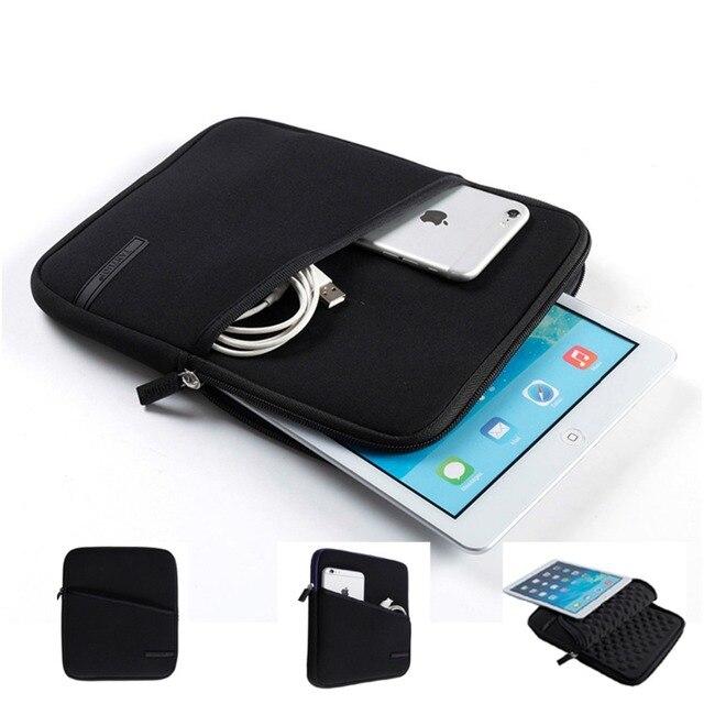 7 Дюймов 8 Дюймов Case Чехол Для Apple iPad Сумка Водонепроницаемый Противоударный EVA Пены Неопрена Защитный Tablet мешок (боковой Карман