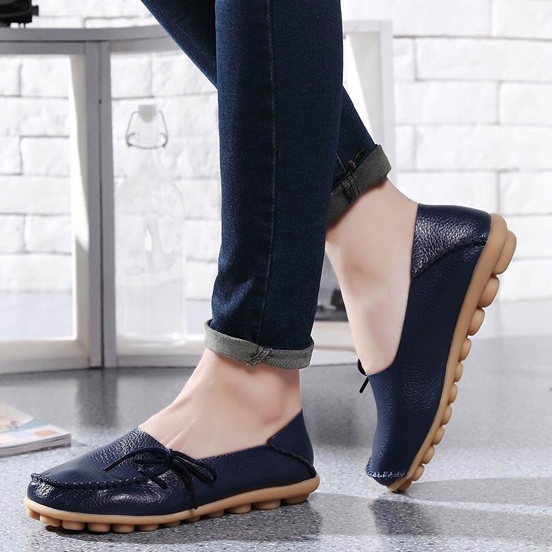 الأحذية المسطحة النساء 2019 الربيع منصة - أحذية المرأة