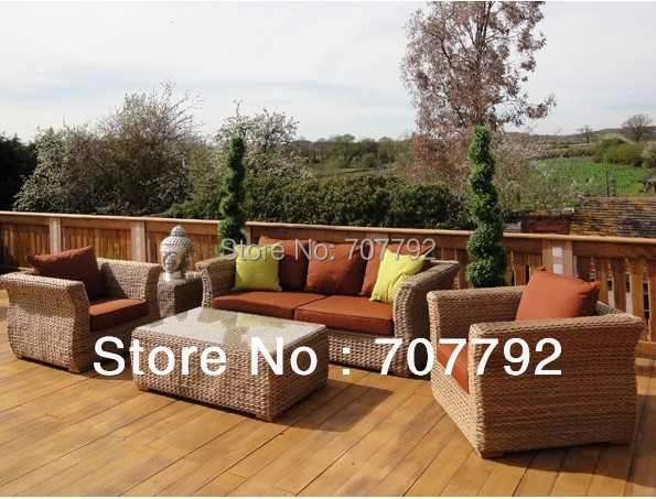 2017 Hot Sale Poly Rattan Garden Furniture 3 Seater Outdoor ...