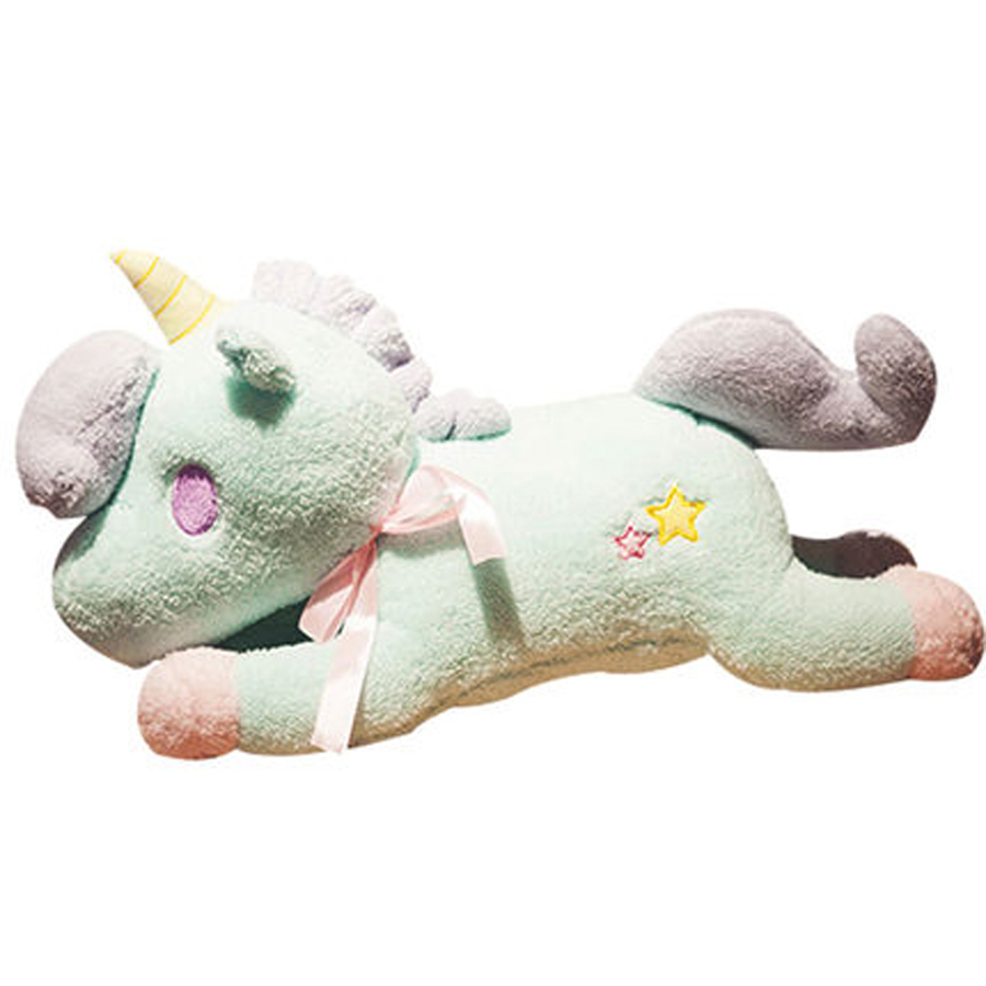 Pillow Creative Cartoon Unicorn Stuffed Animal Plush Toy Pillow Dolls Pelucia Animais Soft Toys Licorne Toys For Girls 60G0609