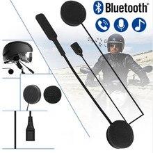 WUPP MH01 Motor Wireless Bluetooth Headset Motorcycle Helmet Earphone Headphone Dual Stereo Speaker Handsfree Music For