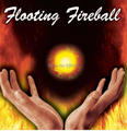 Floating Fireball (Gimmick + DVD)   - Trick . Magic trick with free shipping