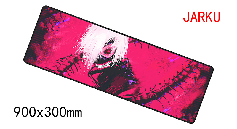 900x300x3mm Tokyo Ghoul mousepad gaming mouse pad gamer mouse mat pads game computer High quality padmouse laptop play mats