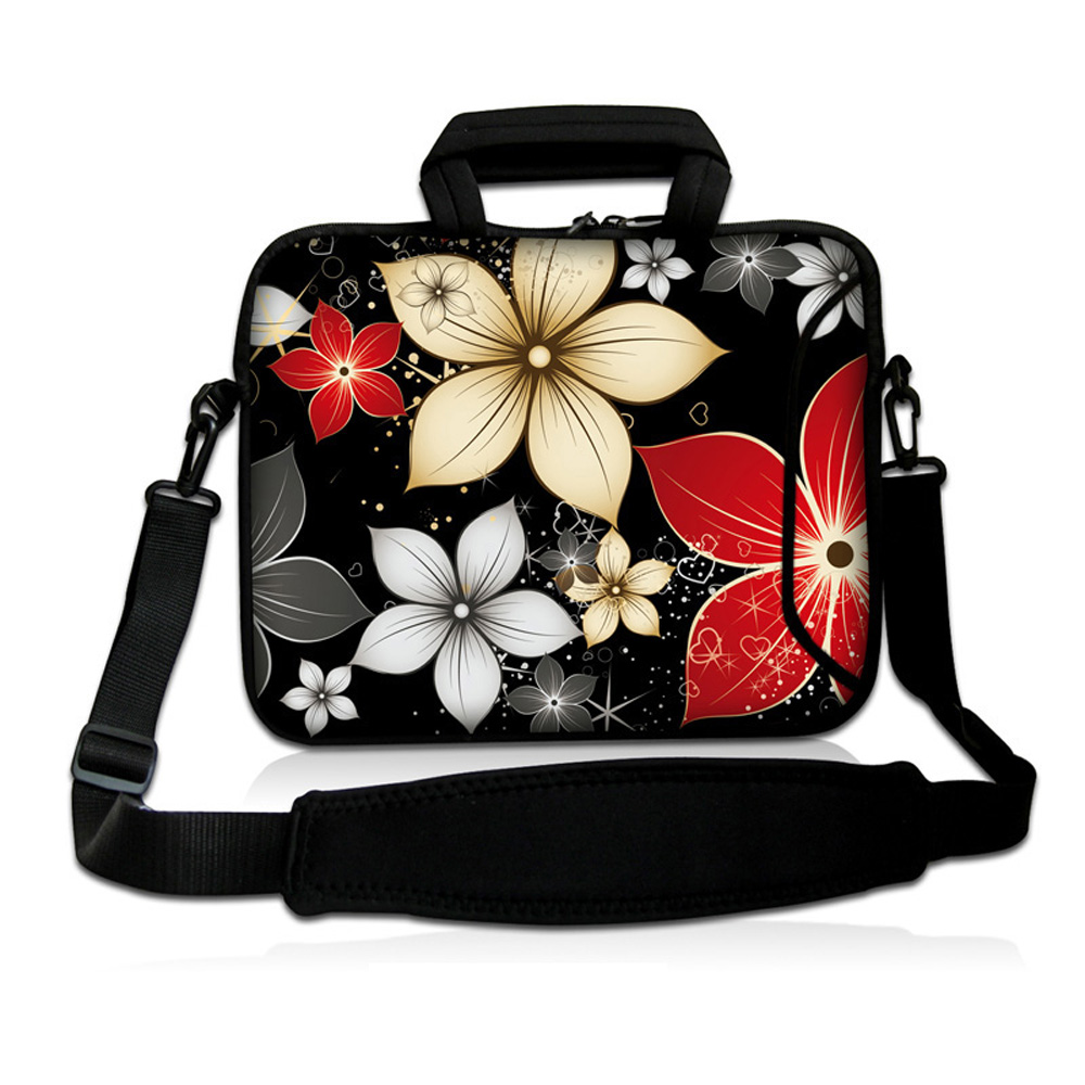 Brand New Notebook Shoulder Cases Cover Bags For Women 10 12 13 14 15 17 Handle Laptop Bags For Macbook Dell Toshiba ASUS
