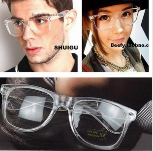 fe35e727c722 Free shipping fashion rivet clear frame unisex reading glasses wholesale