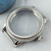 44 Mm Steriele 316L Stalen Horloge Horloge Shell Fit Eta 6497/6498 ST36 Beweging