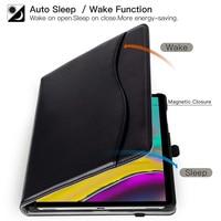 "galaxy tab BOZHUORUI smart cover case for Samsung Galaxy Tab s5e 10.5"" Tablet SM-T720 SM-T725 Stand Hand Strap,for samsung tab s5e case (5)"