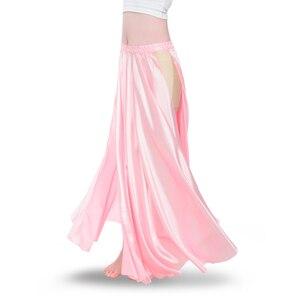 Image 4 - Traje de dança do ventre feminino, fantasia de dança do ventre com 2 lados, saia oriental, roupas de dança do ventre saia,