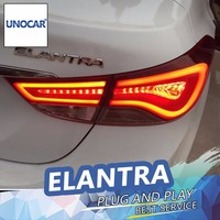 UNOCAR Car Styling For Hyundai Elantra Tail Lights Korea Design New Elantra MD Tail Light Rear