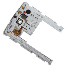 Hot Sale 10PCS/LOT Replacement for LG G3 D850 D851 D855 D852 OEM Rear Housing Frame Bezel Housing With Camera Lens Spare Parts