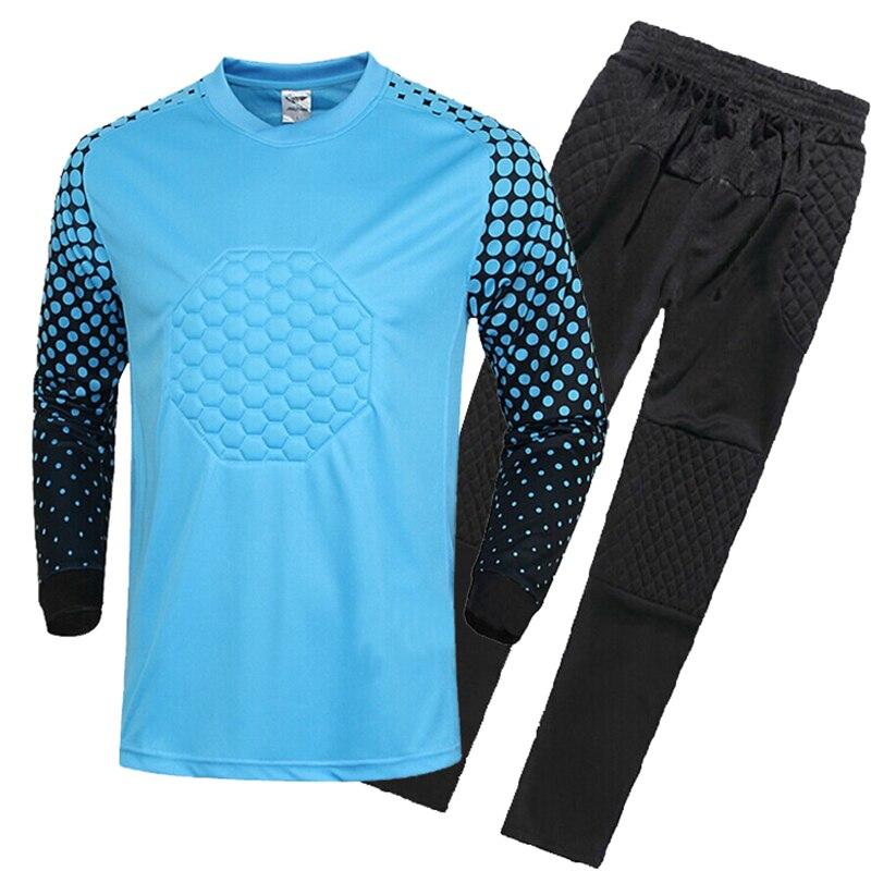 2017 New Football Jerseys Goalkeeper Clothing Uniforms Mesh Breathable Men Soccer  GoalKeeper Jerseys Kits Football Training Suit on Aliexpress.com | Alibaba  ...