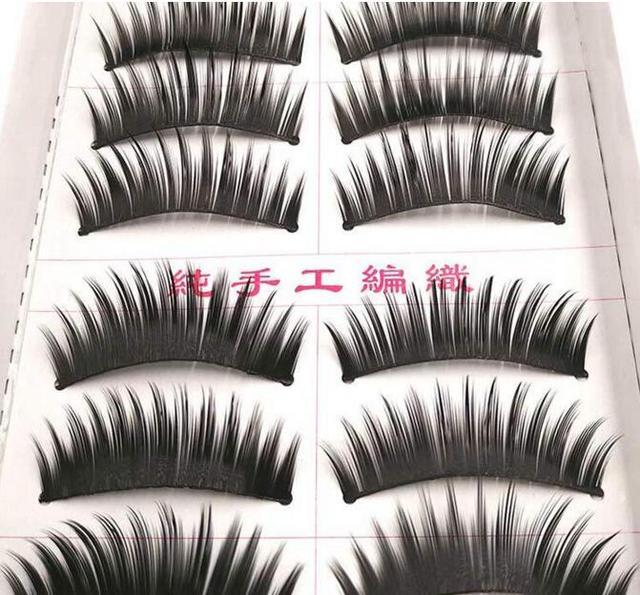 d05638069d3 hotsell 1028 natural thick type smoky eyes DIY false eyelashes as handmade fake  eyelashes artificial eyelashes for beauty makeup