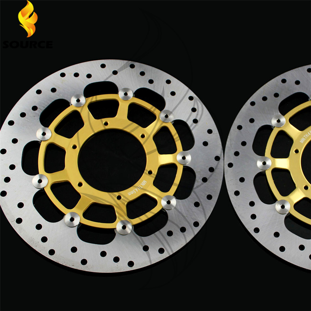 motorcycle accessories Front Brake Disc Rotor For Honda CBR600RR 2003 2004 2005 2006 2007 2008 2009 2010 2011 2012 2013 2014 kemimoto 2007 2014 cbr 600 rr aluminum radiator grille grills guard cover for honda cbr600rr 2007 2008 2009 2010 11 2012 13 2014