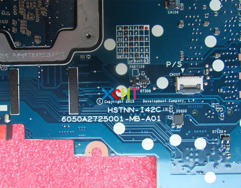 Image 4 - XCHT for HP EliteBook 820 G3 Series 831763 001 831763 601 6050A2725001 MB A01 UMA i5 6300U Laptop Motherboard Mainboard Tested-in Laptop Motherboard from Computer & Office