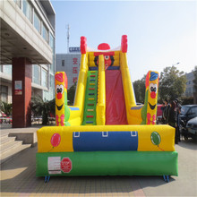 attractive inflatable bouncers slide playground blower inflatable slide playground YLW-182
