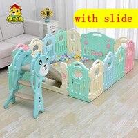 Детский Крытый манежи детские игры забор детские игрушки Сканирование мат малыша бар морских пул с детские горки