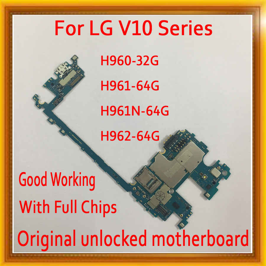 Factory Unlock For LG V10 H960 H961 H961N H962 Motherboard with Full Chips 100% Original Good Working Logic Board Android System|Mobile Phone Antenna| |  - title=