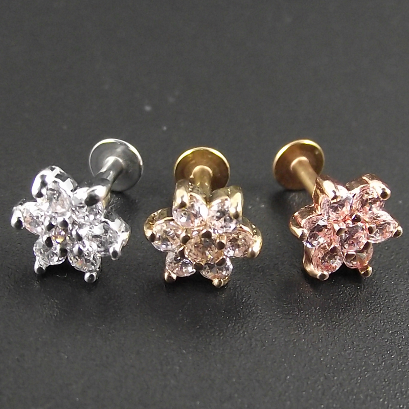 Best Flower Lip Ring Near Me And Get Free Shipping A321
