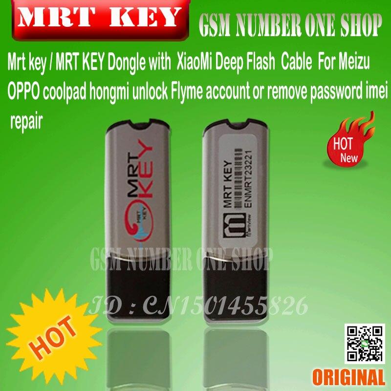 US $51 99 |MRT KEY mrt dongle key mrt tool ForMeizu /OPPO coolpad for  hongmi unlock Flyme account or remove password imei repair Fully-in Telecom