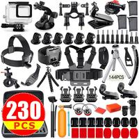Action Camera Accessories Kit For GoPro Hero 7 6 5 4 3plus 3 2 1 Hero Session 5 Accessory Bundle Set Action Camera Accessory