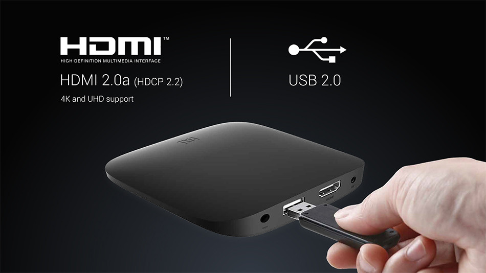 Original xiaomi Mi Box 4K Android TV Box-16