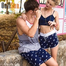 oufisun Board Shorts Beach Boxer Trunks Swimwear Swimsuits Sports Bottoms Men