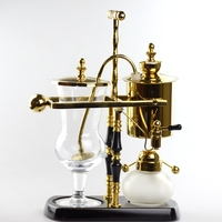 T Design Royal Balancing Coffee Syphon Maker Color in Gold
