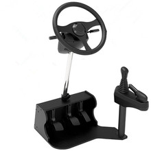 2016 new pc Racing sport steering wheel twin USB automotive driving simulator faculty automotive driving take a look at driving faculty coaching mach