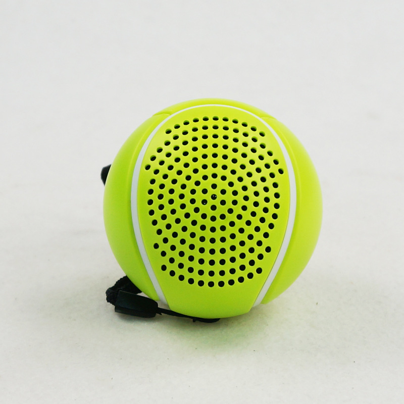Wireless Mini Ball Bluetooth Speakers Portable Tennis Speaker Gift Audio Subwoofer Outdoor Boombox Sound Box With Mic TF Card FM